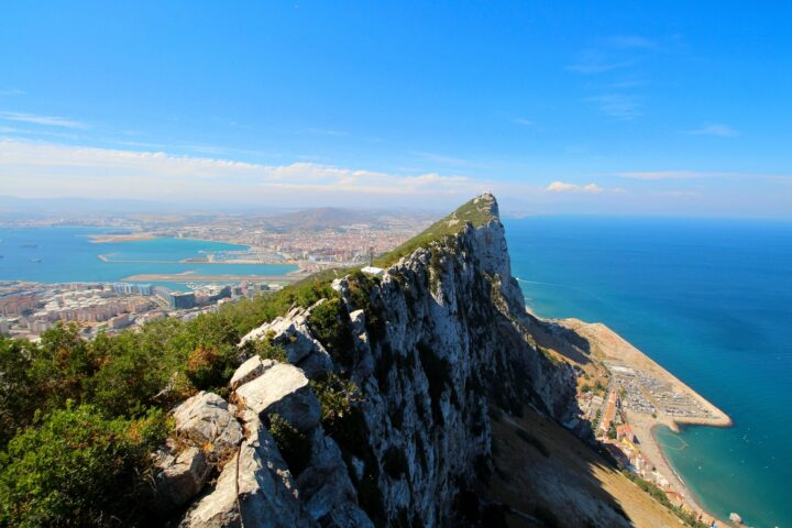 Image of the rock of Gibraltar